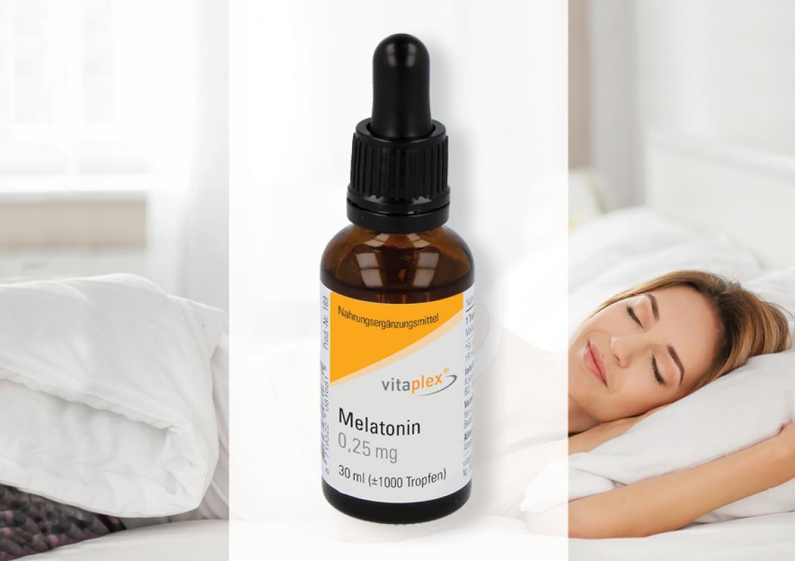 Afbeelding voor New: Vitaplex melatonin 0,25 mg