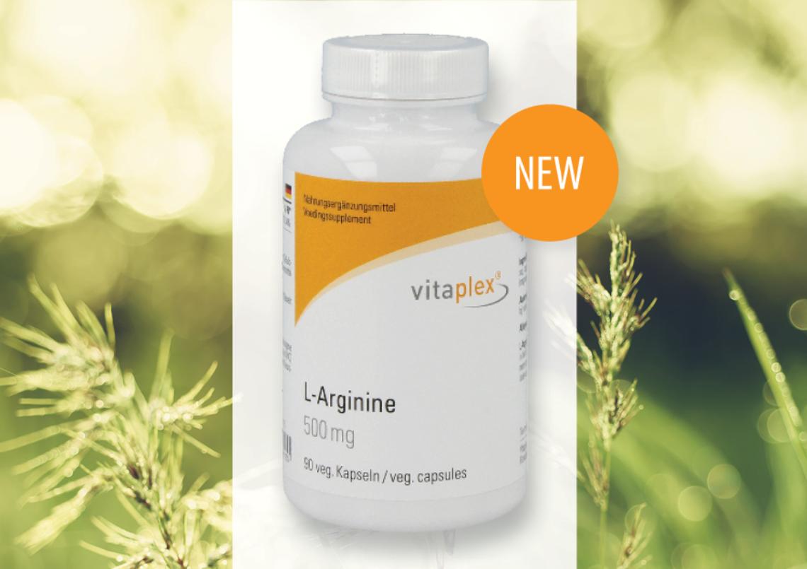 Afbeelding voor New: Vitaplex L-Arginine