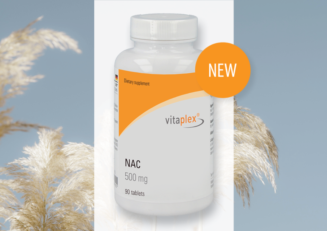 Afbeelding voor New product at Vitaplex: NAC